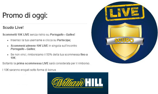 Promo William Hill 06/07/2016