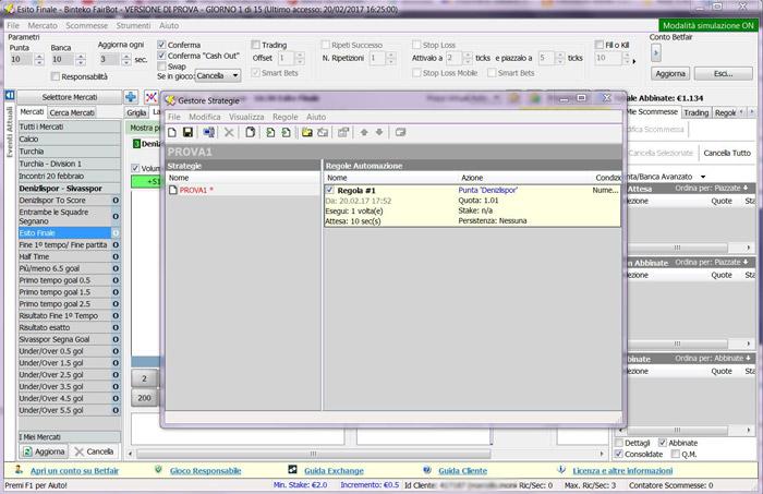 fairbot software italiano gestore strategie