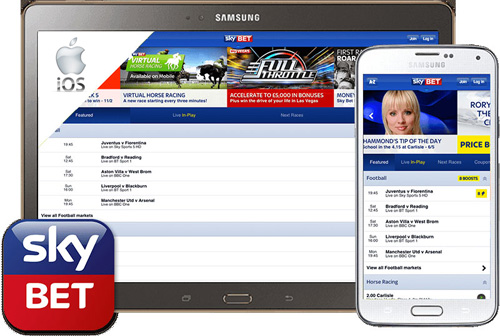 App Skybet mobile iphone ipad iOS