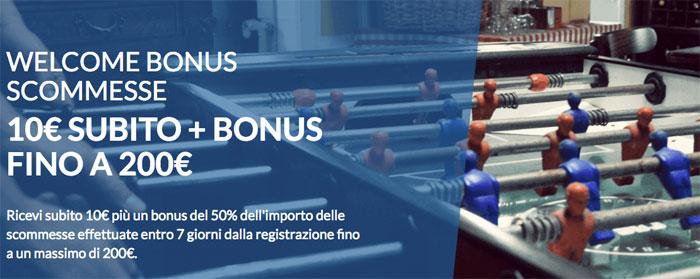 eurobet bonus di benvenuto