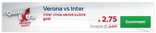 skybet quota extra verona inter