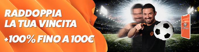 leovegas bonus scommesse 100 euro