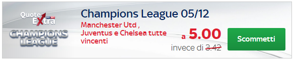quote extra skybet champions league