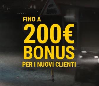 bwin bonus benvenuto 200 euro