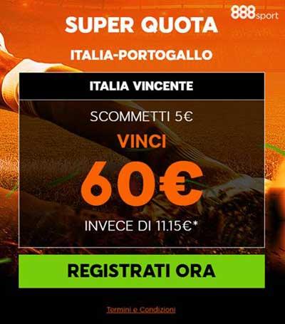 888 quota italia portogallo