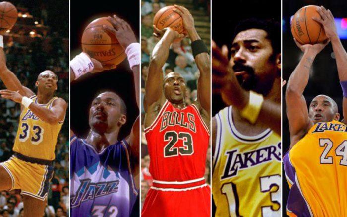10 migliori giocatori NBA di sempre