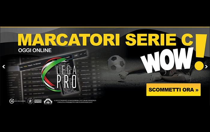 782sport e le scommesse sui marcatori Lega Pro