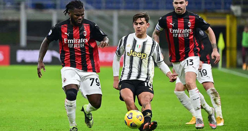 Juventus e Milan in palio un posto Champions