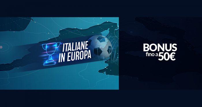 Promozione Eurobet, italiane in Europa